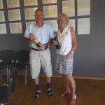 B rækken: 3. plads m. 35 point: Lisbeth og Klaus