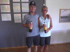 A rækken: 2. plads m. 37 point: Tove og Erik