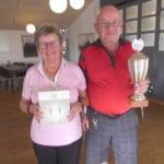 Vinder af Pokalen blev: Karen og Ole Tegner med total 67 point