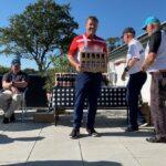 Søren Pedersen vinder længste drive for herrer